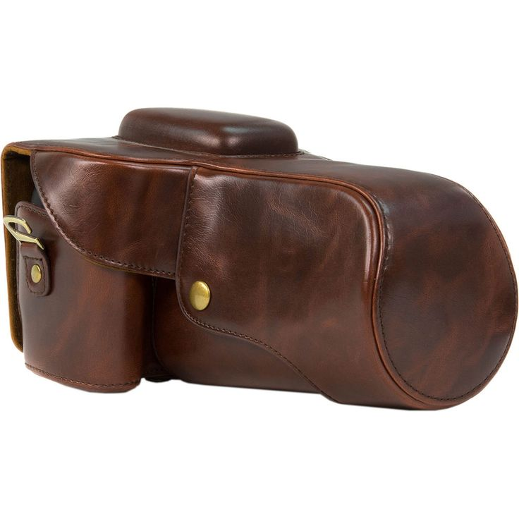 MegaGear MG109 Ever Ready Protective Camera Case for Select Canon Cameras (Dark Brown) from B&H Camera