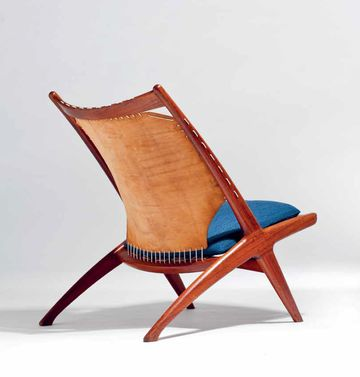 Lounge Chair 'Krysset' by Fredrik Kayser