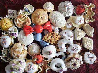 cento gr di zucchero: i dolci sardi ceramica