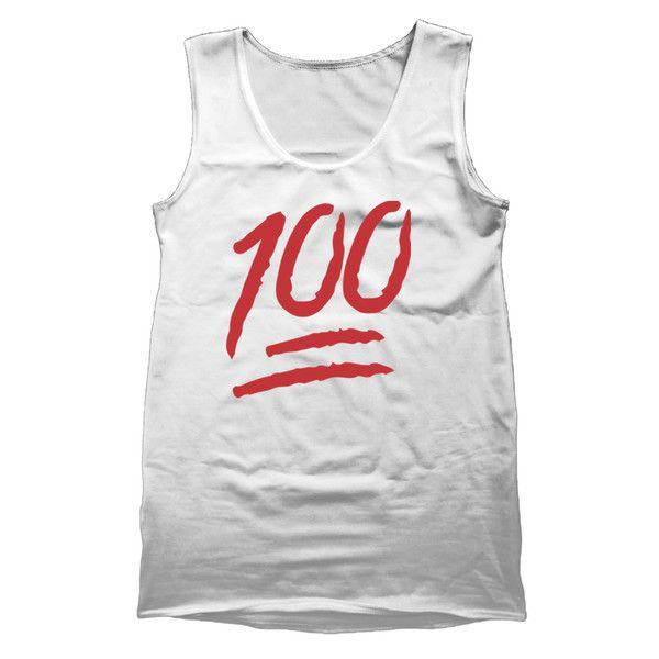 100% Emoji Tank Top