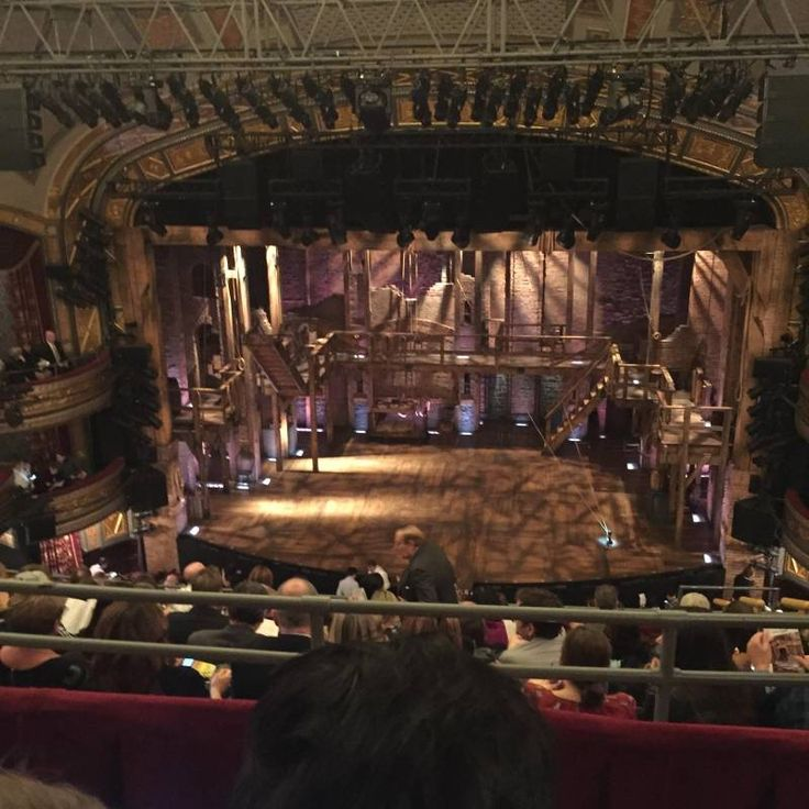Seating view for Richard Rodgers Theatre Section Rear Mezzanine Row B Seat 103