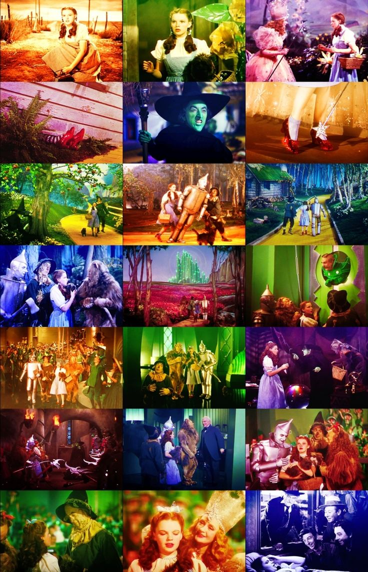 the whole movie in stills ~The Wizard Of Oz (1939)