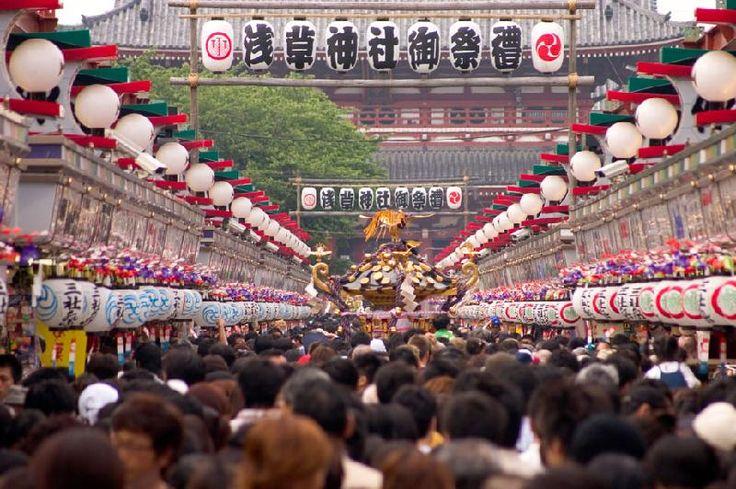 Sanjamatsuri ● 三社祭