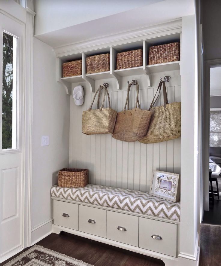 Storage Bench idea - entrance