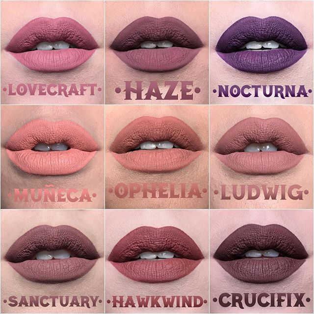 25 Kat Von D Everlasting Liquid Lipstick shades are launching next year, and the tattoo artist gave her Instagram followers a sneak peek of every single one of them.