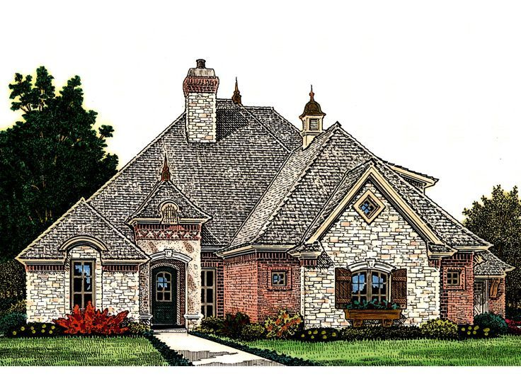 282 best european house plans images on pinterest for Unique european house plans