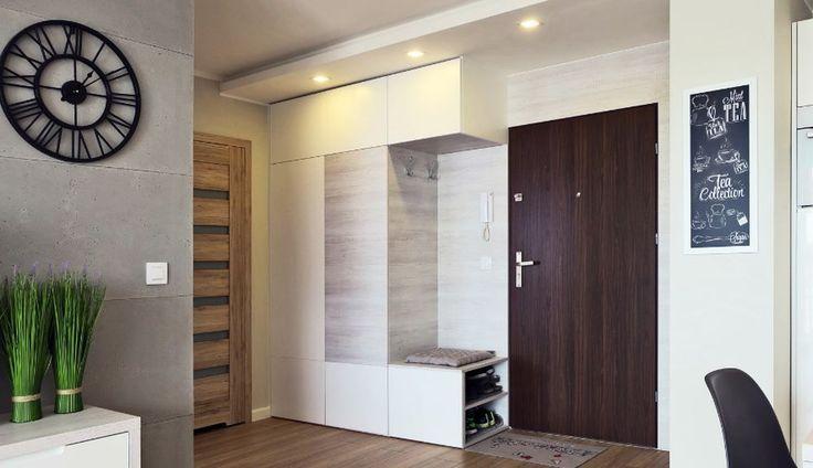 adelaparvu.com despre 30 solutii pentru separarea usii de la intrare, hol creat cu mobila si paravane, Foto Studio Uljar