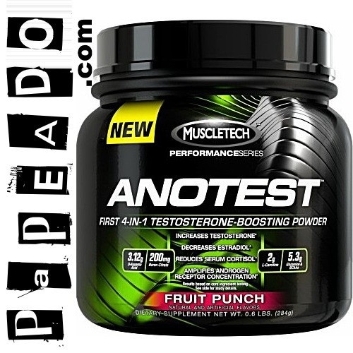 ANOTEST de ((MUSCLETECH)) - Primer potenciador de TESTOSTERONA 4 en 1 para hombres que realmente quieren ganar masa muscular! -- http://papeado.com/tienda/testosterona/139-anotest-40-servicios-muscletech.html