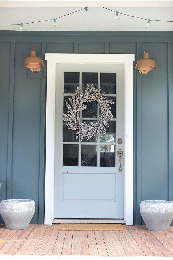 our bungalow exterior before u0026 after exterior front doorsblue