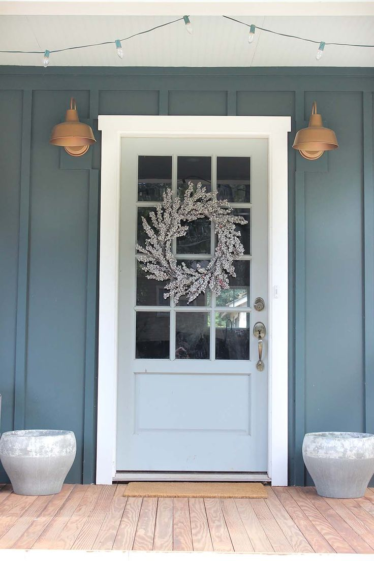 Front door colors for light gray house - Front Door Colors For Light Gray House