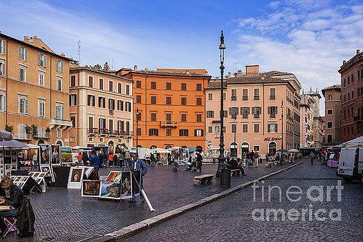 Rome, Italy - Piazza Navona by Devasahayam Chandra Dhas