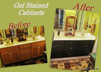 restaining bathroom cabinets best 25 restaining kitchen cabinets ideas on 14202