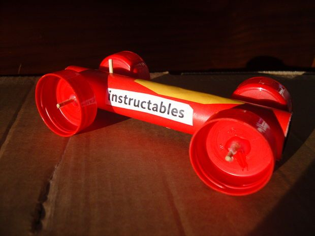 1000 Images About Rubber Band Powered Car Ideas On