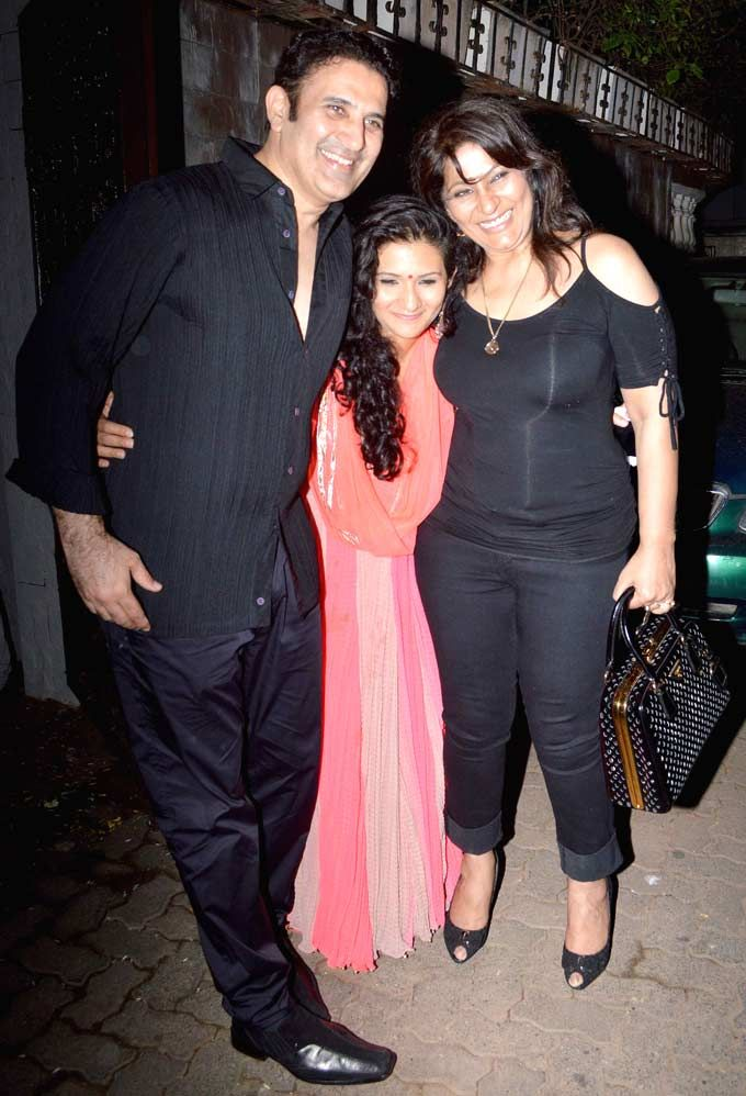 Archana Puran Singh at Pammi Bakshi's birthday bash. #Bollywood #Fashion #Style #Beauty