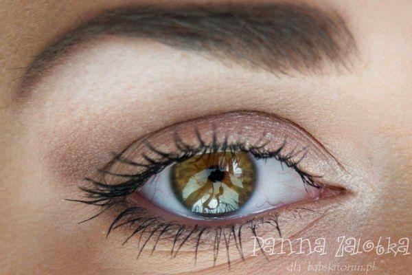 makijaż dzienny w odcieniach beżu i brązu - beige and brown casual makeup