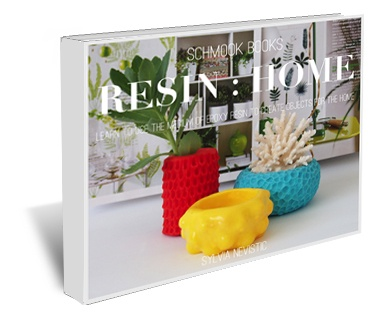SCHMOOK BOOKS > RESIN : HOME. A comprehensive ebook written by Sylvia Nevistic a practicing jeweller & object maker, showing you how you can use the medium of epoxy resin to create unique projects for the home. #resin #DIY #craft #handmade