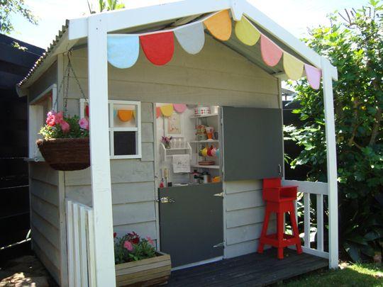 Quelle belle cabane pour enfants !