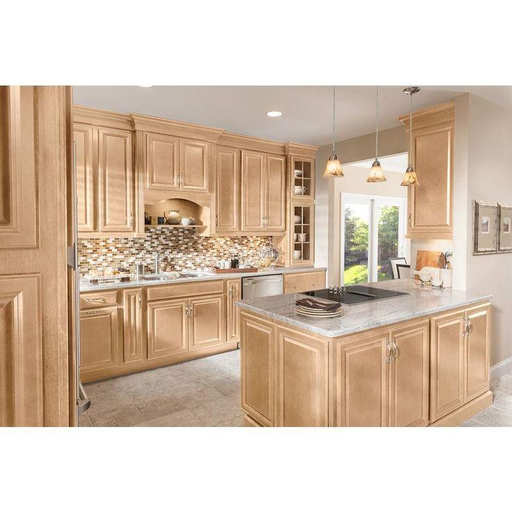 American Woodmark 13x12-7/8 in. Portland Maple Cabinet ...
