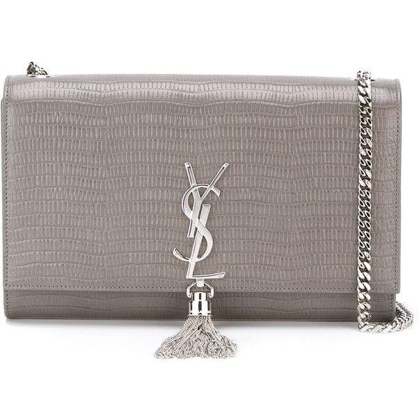ysl clutch silver - Saint Laurent medium \u0026#39;Classic Monogram\u0026#39; shoulder bag (10.065 RON ...