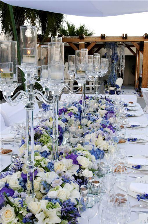 Love the candelabra!  Wedding by Monte-Carlo Weddings.