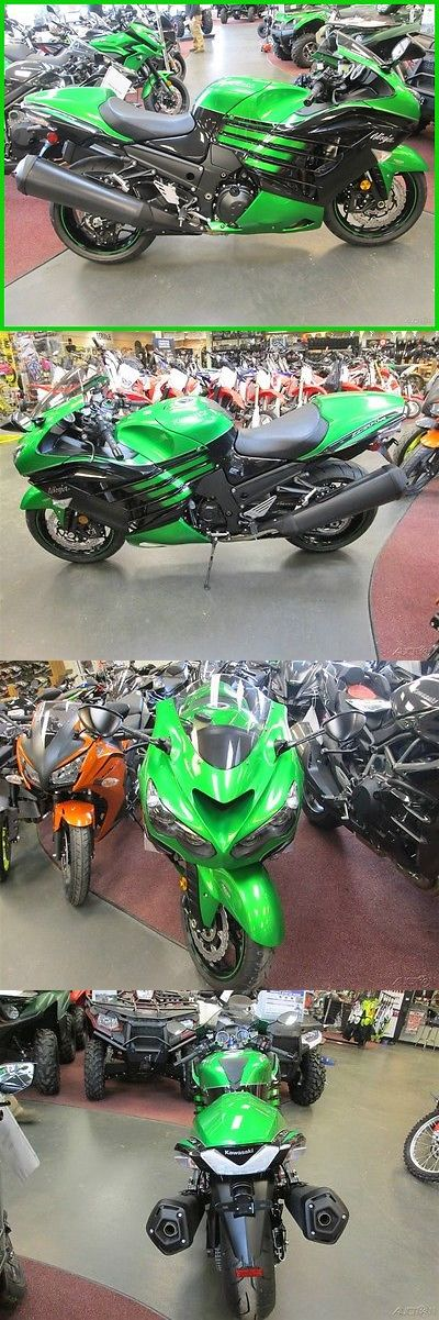 Motorcycles: Kawasaki Ninja Zx-14R Abs New 2016 Kawasaki Zx14r Abs Traction Control 1400 Motorcycle Otd Price No Fees -> BUY IT NOW ONLY: $10999 on eBay!