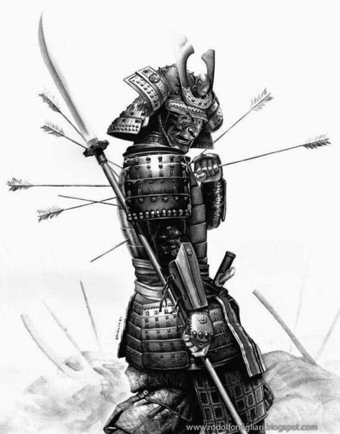 Картинки самурай тату