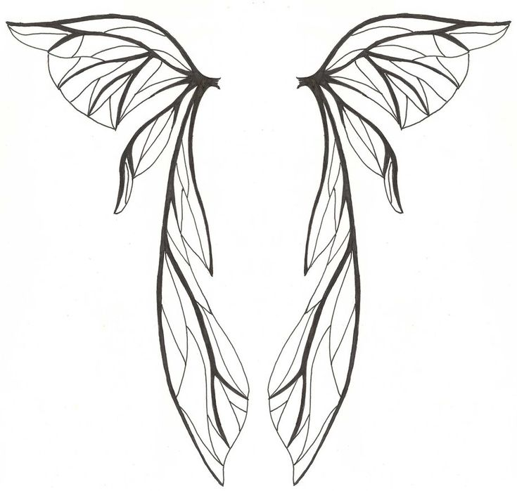 how to draw wings deviantart