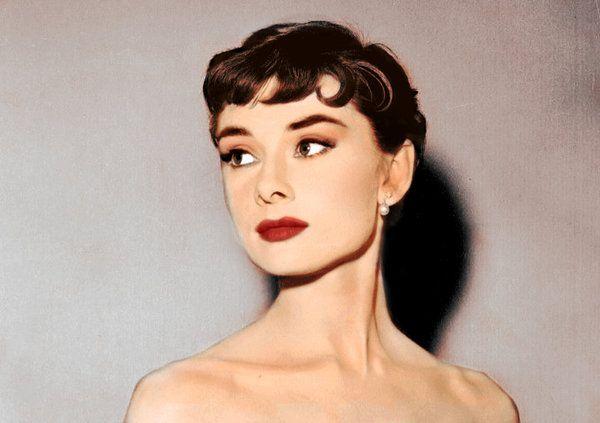 The always lovely Audrey Hepburn