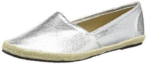 Buffalo Shoes 327423 LH-129, Damen Espadrilles, Silber (SILVER), 37 EU - http://on-line-kaufen.de/buffalo-69/37-eu-buffalo-327423-lh-129-damen-espadrilles-5