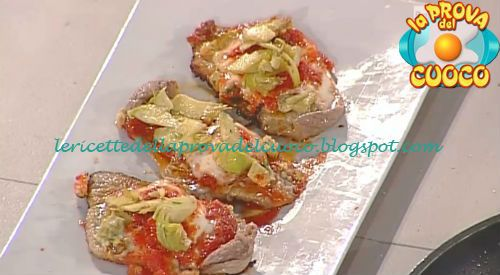 Scaloppine pasquali ricetta Cesare Marretti da Prova del Cuoco