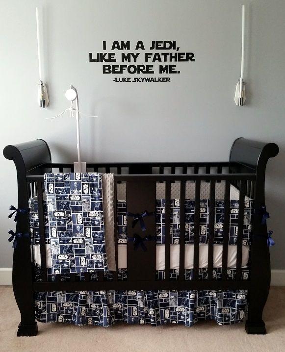 Custom Star Wars Bedding Set Crib Toddler Twin Queen King Geek A Bye Baby Baby Boy Bedding Baby Girl Bedding Crib Bedding Boy