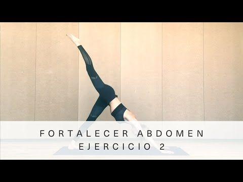(2) Fortalecer abdomen - Ejercicio 2  Vanesa Lorenzo - YouTube