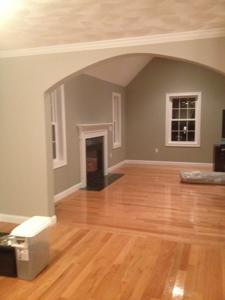 Benjamin Moore Silver Fox And Revere Pewter For The Home