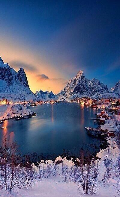 Norway, what a beautiful winter wonderland!