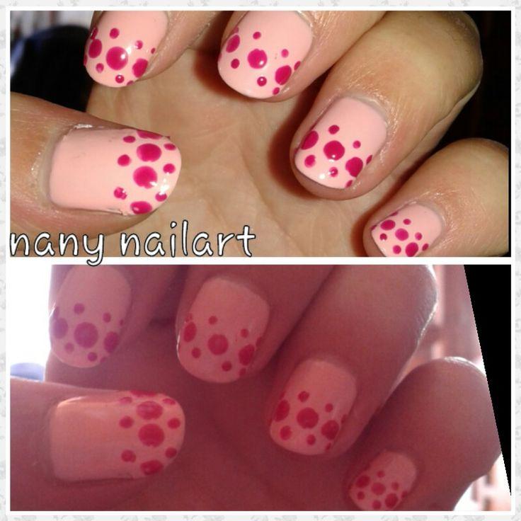 Pastel pink nail wear pro avon and fuchsia