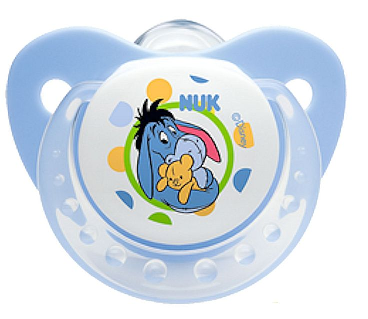 ** New Arrival ** NUK Disney Winnie the Pooh Baby Soother Pacifier 6-18 Months Silicone 2241-3 #NUK