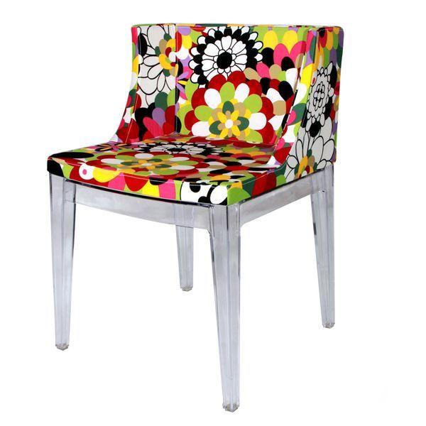 Philippe Starck S Missoni Fabric Mademoiselle Chair: 75 Best Post-Modernist Designers