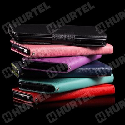 Kabura etui Fancy Series do Huawei P8 Lite ALE-L21 czarne