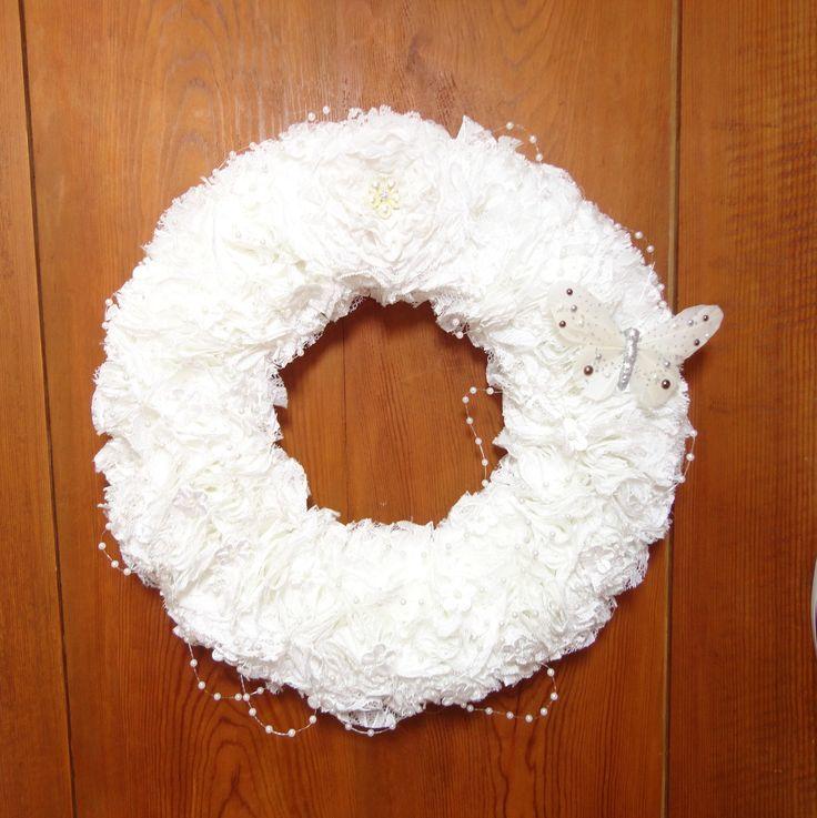 17 meilleures id es propos de couronnes de porte sur for Decoration porte bienvenue