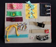 Tableau de manipulation Montessori DIY