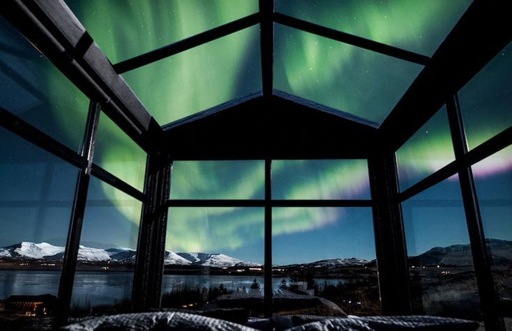 Panorama Glass Lodge is The Perfect Vacation Spot to Watch The Northern Lights in Iceland