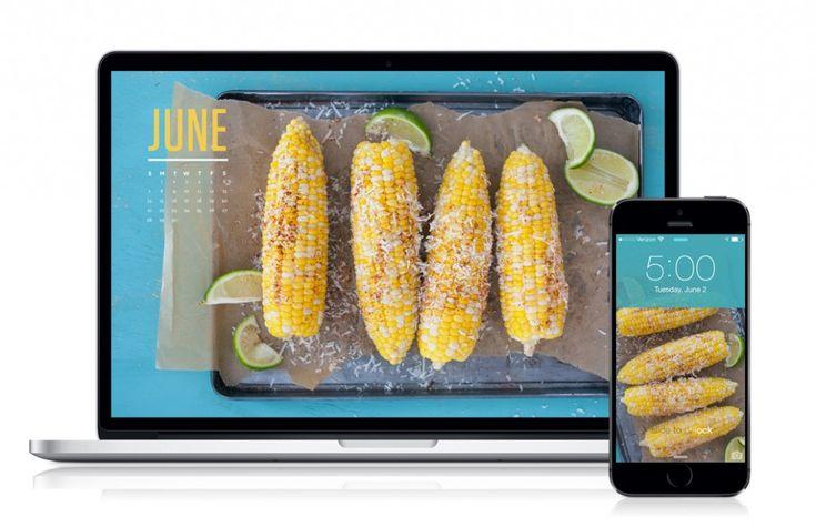June 2015 Calendar – Mexican Street Corn