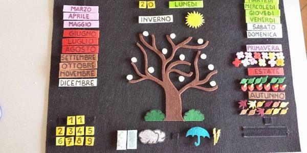 Calendari fai-da-te per insegnare ai bambini lo scorrere del tempo (TUTORIAL)