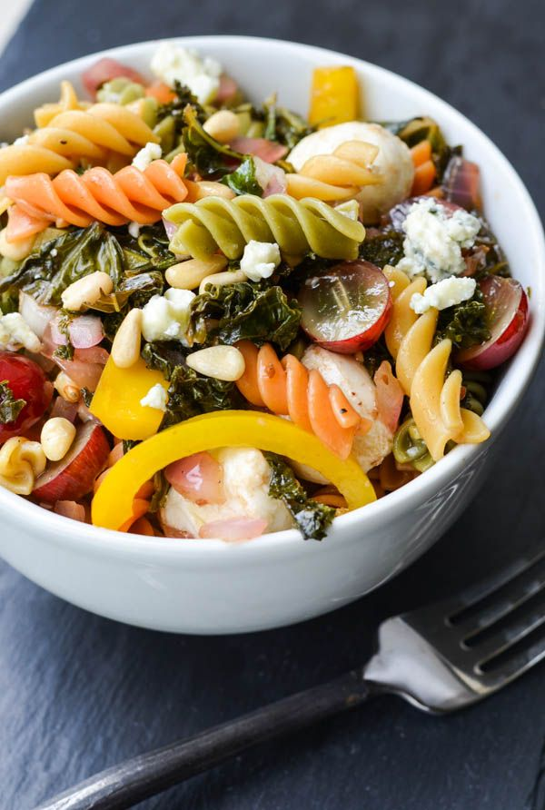 KALE PASTA SALAD http://www.caccabe.it/