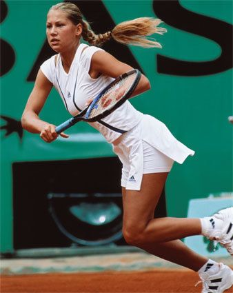 Anna Kournikova Tennis Player Mini Biography