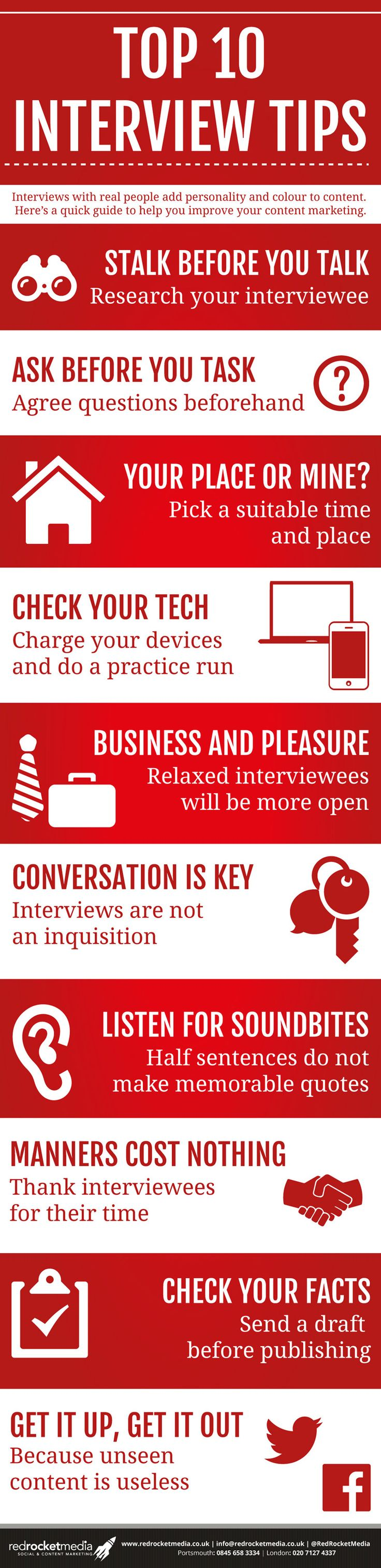 Think Like A Journalist: Ten Interviewing Tips   Red Rocket Media