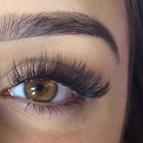 LOVE MY LASHES!! Thank you Abbie at @asj_lashes for my beaut Russian Volume lashes. I looove how lightweight these are as well