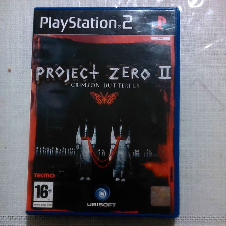 On instagram by nick23276 #retrogames #microhobbit (o) http://ift.tt/1ZJxUoC Zero Crimson Butterfly ps2 #horror #survivalgame #residentevil #fatalframe #projectzero #obscure #playstation #raregame #videogames #gaming #gameshop #xbox #Nintendo #ps1 #tecmo  #retroconsole