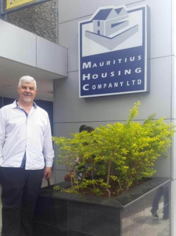 Hennie Botes - CEO of moladi - in Mauritius