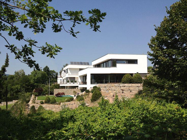 Architektenhaus Wiesbaden am Hang